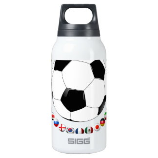 Soccer 2014  2530 10 oz insulated SIGG thermos water bottle