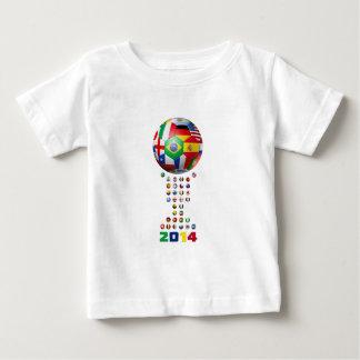 Soccer 2014  4403 baby T-Shirt