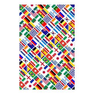 SOCCER 2014 emblem pattern Flyer