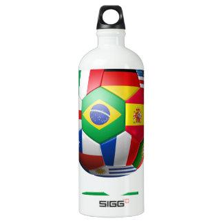 Soccer 2014 SIGG traveler 1.0L water bottle