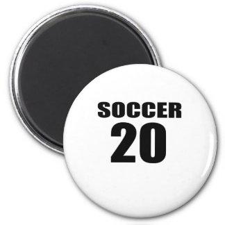 Soccer 20 Birthday Designs Magnet