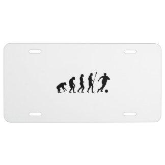 soccer 2 evolution license plate