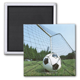 Soccer 2 Inch Square Magnet