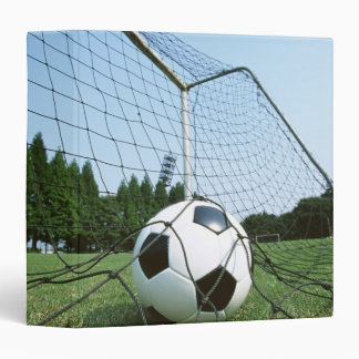 Soccer 3 Ring Binder