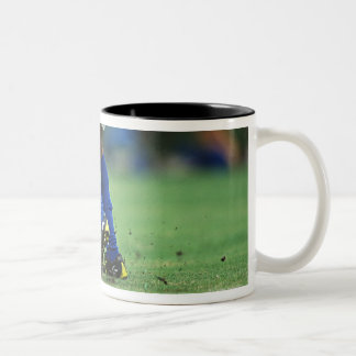 Soccer 3 Two-Tone coffee mug