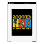 Soccer A Way of Life Decal For iPad
