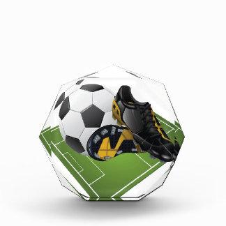 Soccer Acrylic Octagon Awards