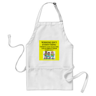 soccer adult apron