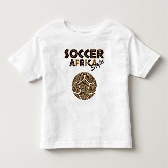 Soccer Africa style childrens soccer ball T Toddler T-shirt