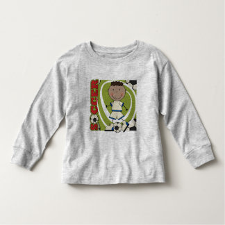 SOCCER - African American Boy TShirts and Gifts