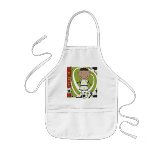 SOCCER - African American Boy TShirts and Gifts Apron