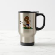 Soccer Alien Coffee Mugs