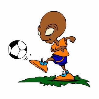 Soccer Alien Statuette
