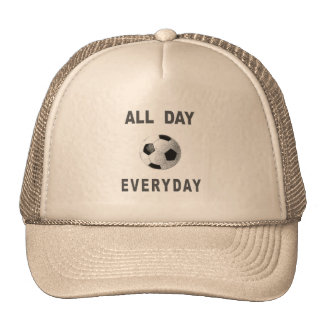 Soccer All Day Everyday Trucker Hat