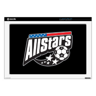 Soccer All Stars Decal For Laptop