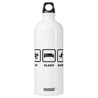 Soccer Aluminum Water Bottle