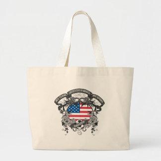 Soccer America Canvas Bags