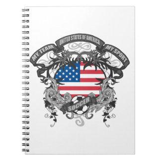 Soccer America Spiral Notebook