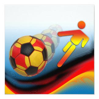 Soccer and Football Dynamics Card