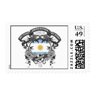 Soccer Argentina Stamp