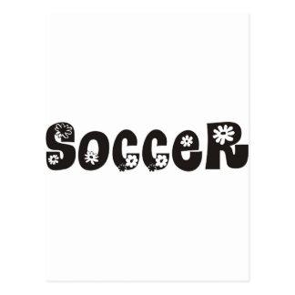 Soccer Arises Postcard