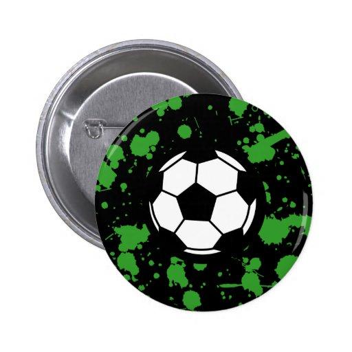 Soccer Art Pin