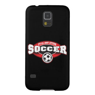 Soccer Attitude Galaxy S5 Covers