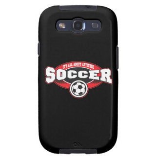 Soccer Attitude Galaxy S3 Covers
