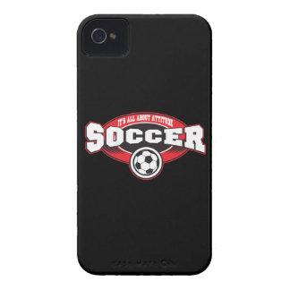 Soccer Attitude iPhone 4 Case-Mate Cases