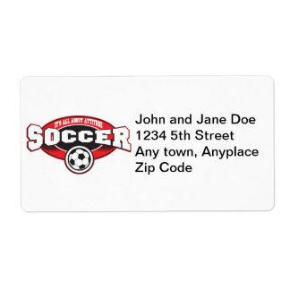Soccer Attitude Label