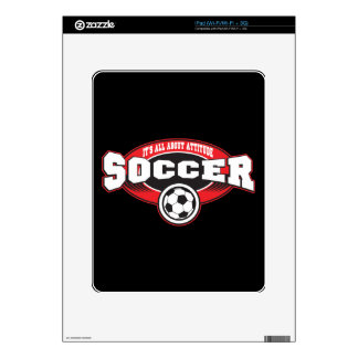 Soccer Attitude Skins For The iPad