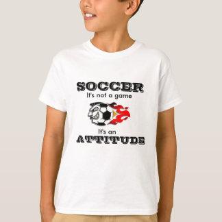 Soccer Attitude T-Shirt for Kids