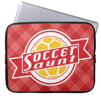 Soccer Aunt Laptop Sleeve
