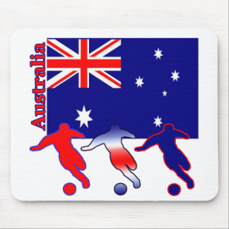 Soccer Australia Mouse Pad