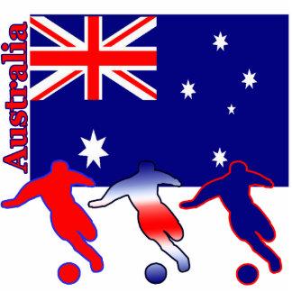 Soccer Australia Photo Cutout