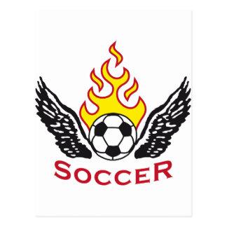 Soccer B 3c Postcard