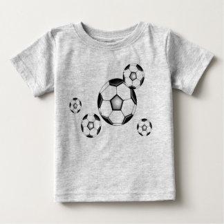 soccer baby: balls and gray baby T-Shirt