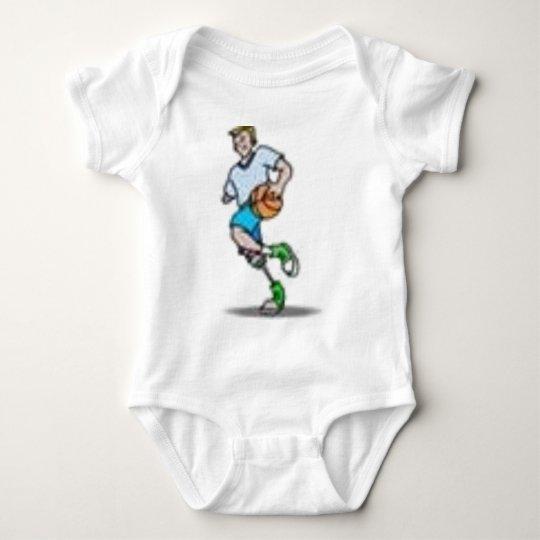 soccer baby bodysuit