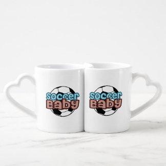 Soccer Baby Couples Coffee Mug