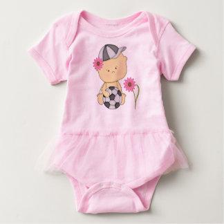 Soccer Baby Girl Tutu Baby Bodysuit