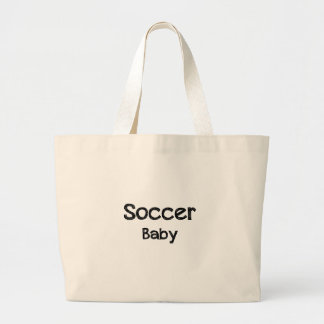Soccer Baby Large Tote Bag
