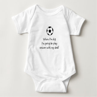 Soccer baby shirt