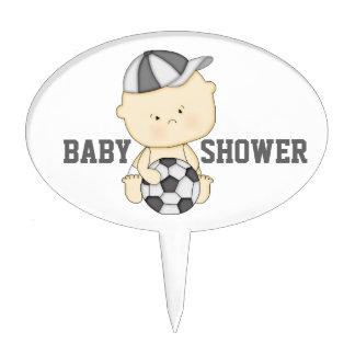 Soccer Baby Shower Cake Topper