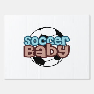 Soccer Baby Lawn Sign