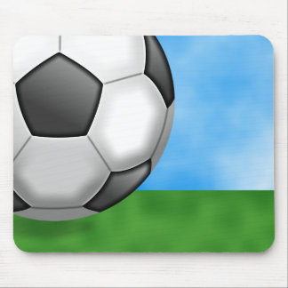 Soccer Background Mouse Pad