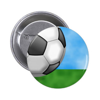 Soccer Background Pin