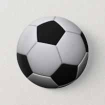 SOCCER badge Pinback Button