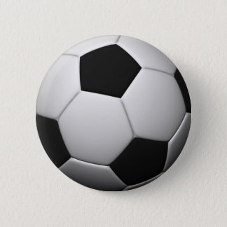 SOCCER badge Pinback Button