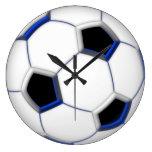 """Soccer Ball 10.75"""" Wall Clocks"""