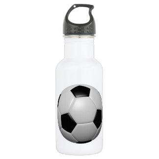 Soccer Ball 18oz Water Bottle